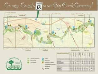 Updated trail maps created by Bike Alpharetta