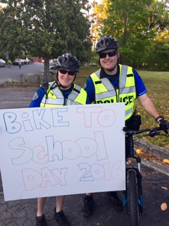 Safe Cycling wtih Bike to School Day