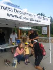 Safety Event with helmet fitting