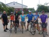 Jim Cheatham and the Bike Alpharetta class ready to ride!