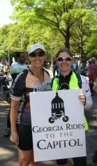 ltor Bike Alpharetta members Diane Borchers and Sandy Reedy