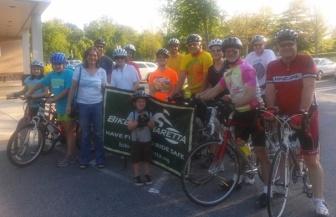 Bike Alpharetta members at the 2013 Ride of Silence.