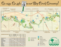 Greenway Bike Map