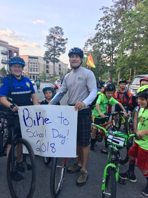 Bike to School Day - Alpharetta Elementary